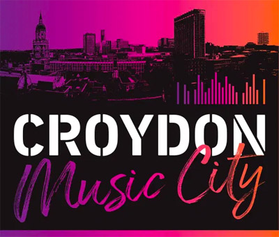 Croydon Music City Logo